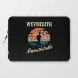 Weymouth Massachusetts Laptop Sleeve