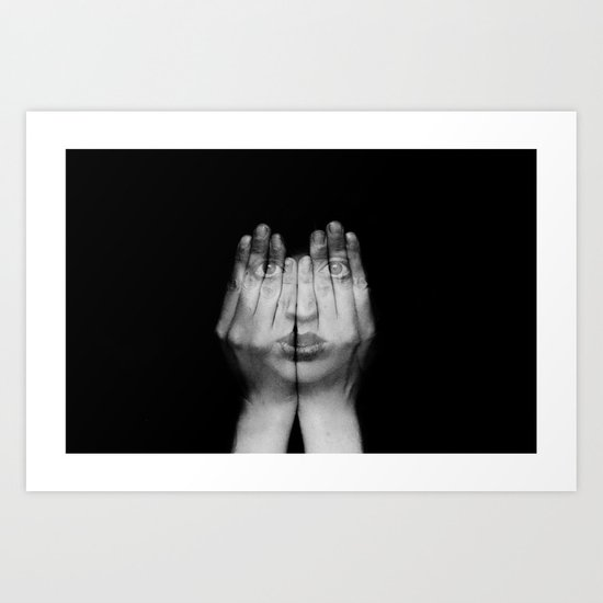 I Can See Through You Art Print