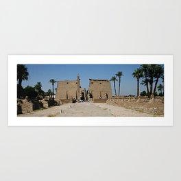 Temple of Luxor, no. 13 Art Print
