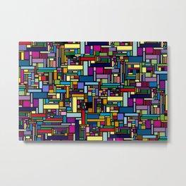 Block Metal Print