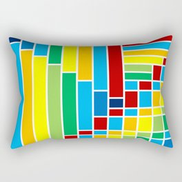 Fuzz Outline Rectangular Pillow