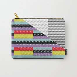Contrasting Love Carry-All Pouch