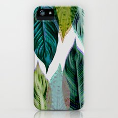 Green Leaves iPhone (5, 5s) Slim Case