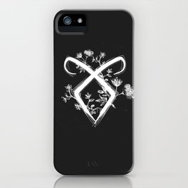 Angelic Rune iPhone Case