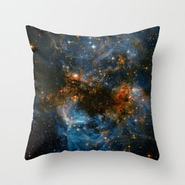 Galaxy Storm Throw Pillow