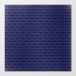 Blue Bars Canvas Print