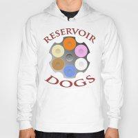 reservoir dogs Hoodies featuring Reservoir Dogs, Tarantino, Illustration by pathos_design