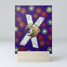 Monky Cross Bones Mini Art Print