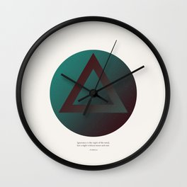 The Night of the Mind Wall Clock