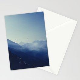 daybreak blues Stationery Cards