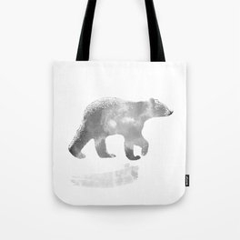 graphic bear III Tote Bag
