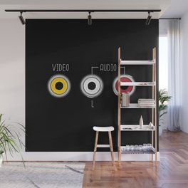 Plug in your mood! (Music + Video) Wall Mural