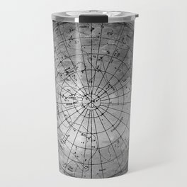 Old Metal Northern Constellation Map Travel Mug