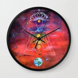 Satellite of Loving Kindness Wall Clock