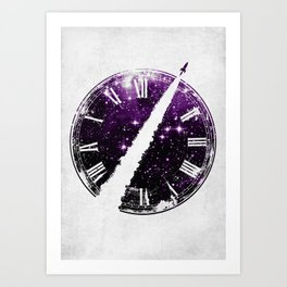 A Journey through Space and Time 2 Art Print