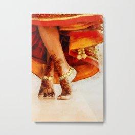 Goddess Terpsichore Metal Print