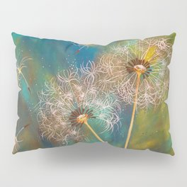 Dandelion Wishes Pillow Sham