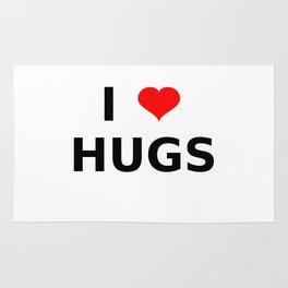 I LOVE HUGS Rug