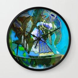 The Dream Boat Wall Clock