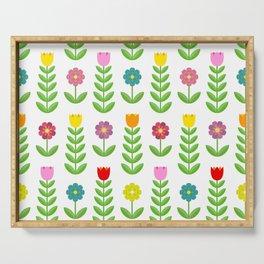 pattern flower 183 Serving Tray
