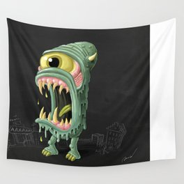 Meltmouth the Monster Wall Tapestry