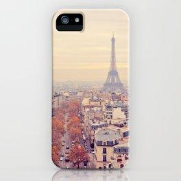 autumn in paris iPhone Case