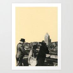 Views Across Vancouver Art Print