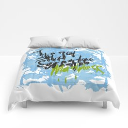 I've got that summertime madness blue Comforters