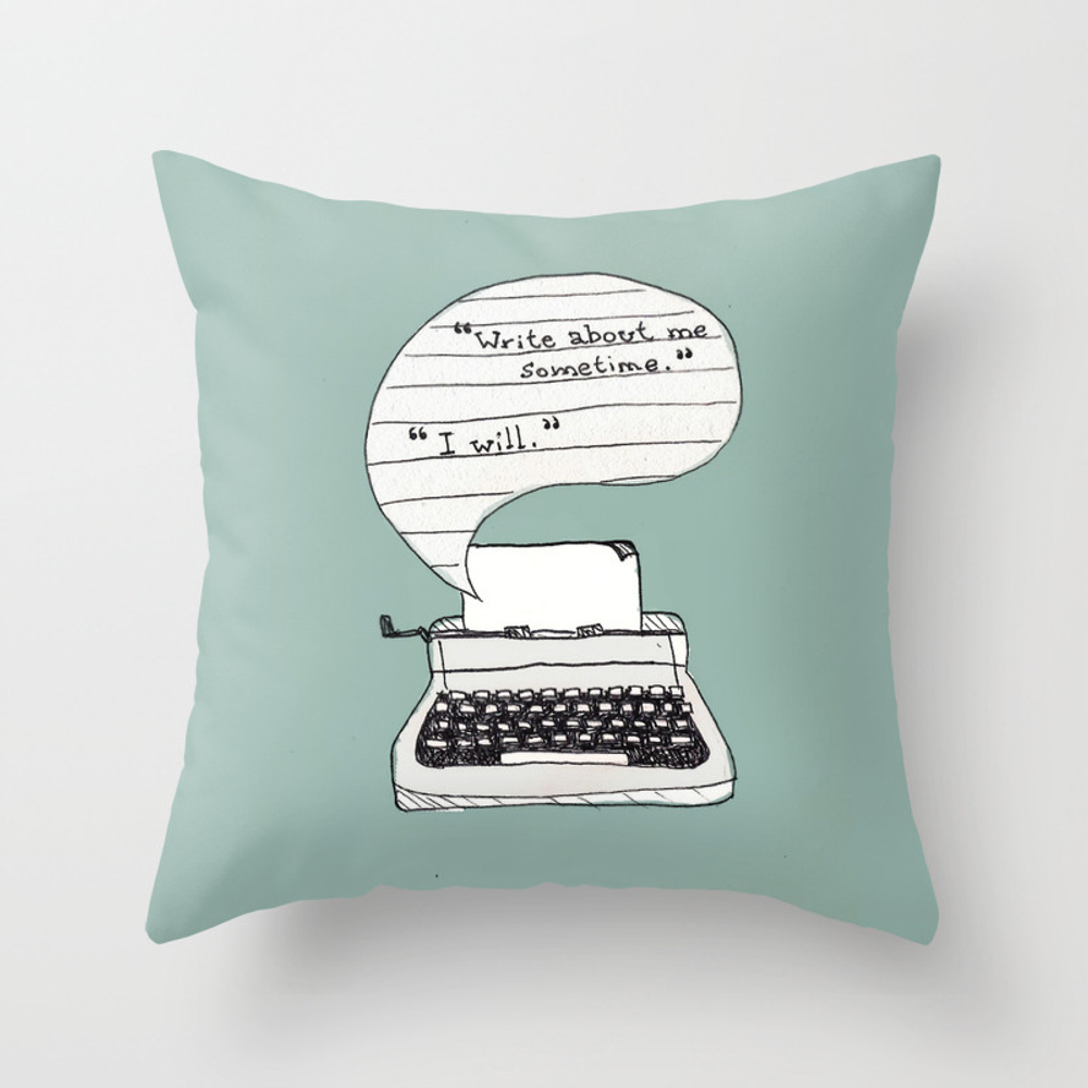 Perks Of Being A Wallflower. Throw Pillow by Sarahbrust PLW2343172