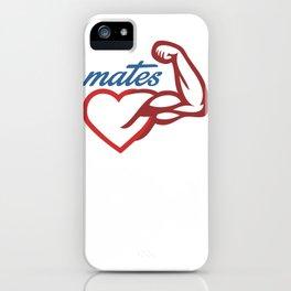 - Mates iPhone Case