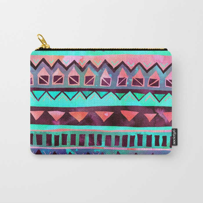 Tribal Pattern 05 Carry-All Pouch