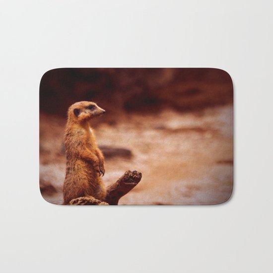 Meerkat Lookout Bath Mat