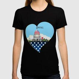 Trump Trumpet Prophetic Political Comic T-shirt