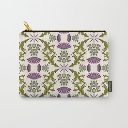 Wild Thistle Meadow Carry-All Pouch