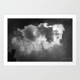 Lone Cloud (over Manhattan) Art Print