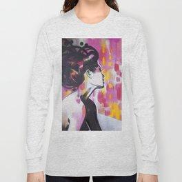 Neon Geisha Long Sleeve T-shirt