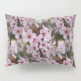 Cherry Plum Blossoms Pillow Sham