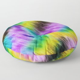 Rainbow furs Floor Pillow