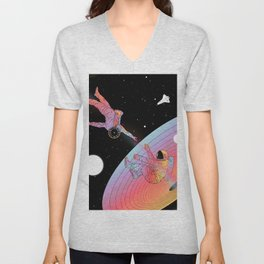 Coexistentiality 3 (An Anomaly to Another Reality) Unisex V-Neck