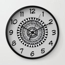 A4 Mandala 5 Wall Clock