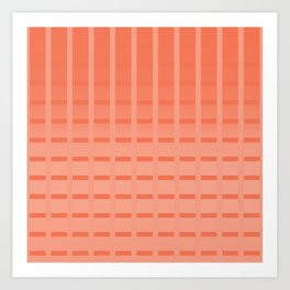 Orangesh Art Print