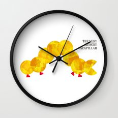 The Very Hungry Pacapillar Wall Clock