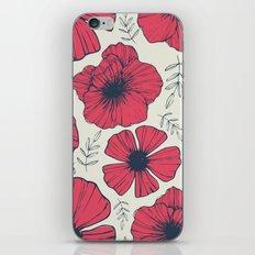 Raspberry Flowers iPhone & iPod Skin