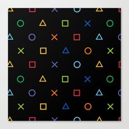 Colofrul Gamer Canvas Print