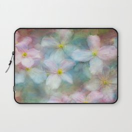 Clematis commotion Laptop Sleeve
