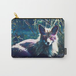 Night Fox Painting Carry-All Pouch