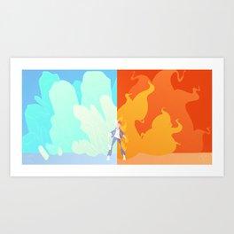 Tododual Art Print