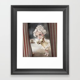 Private enchantment Framed Art Print