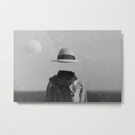 Quest for hat Metal Print