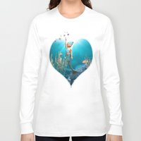 the little mermaid Long Sleeve T-shirts featuring Little Mermaid by Simone Gatterwe